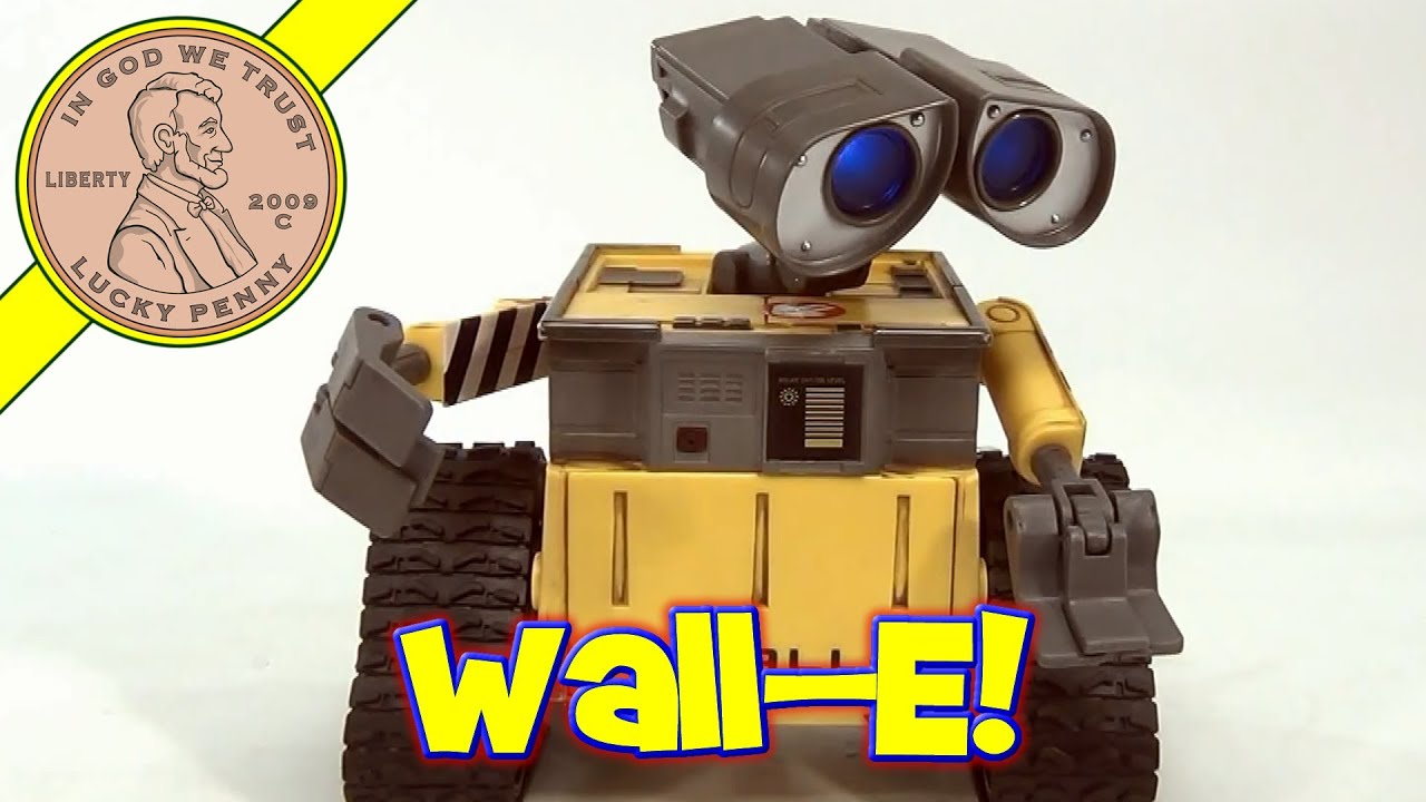 Disney Pixar Wall E Movie Interactive Toy With Original