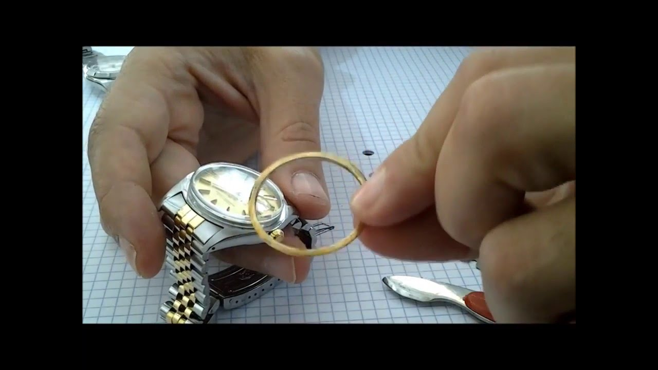 About the Rolex Bezel How to Removal