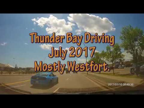 Thunder Bay Driving July 2017