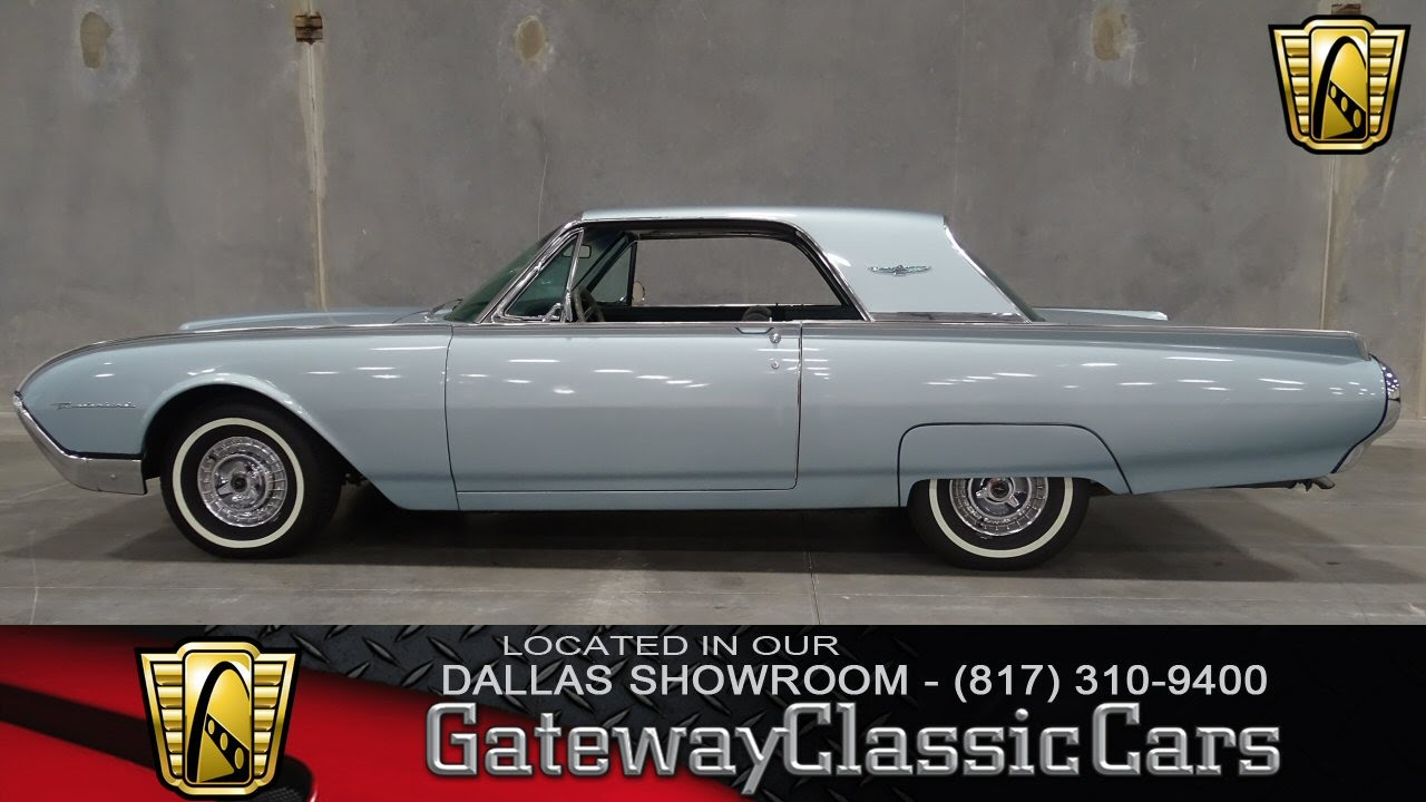 1962 Ford Thunderbird Stock #149 Gateway Classic Cars of Dallas ...