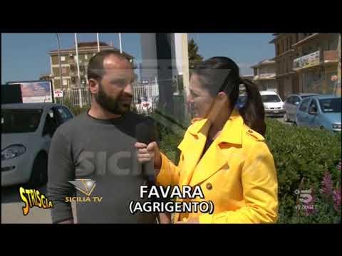 www.siciliatv.org - Favara ospite di due servizi su Striscia la Notizia: nel bene e nel male