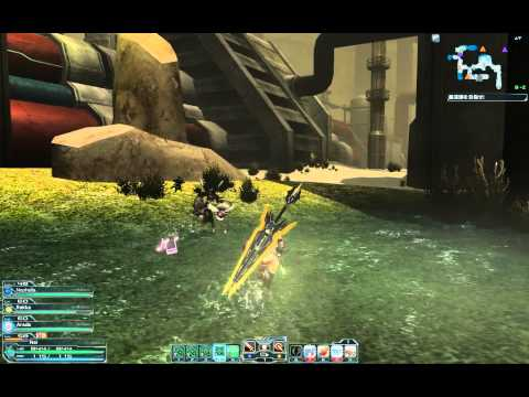 【PSO2】Episode 2 - Lilypa Planet : Abandoned Mining Grounds Area
