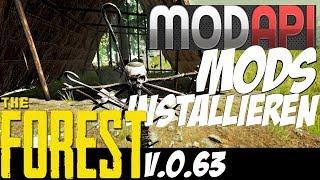 The Forest - ModAPI - Mods installieren Tutorial! - [F.HD|v.0.63]