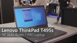 Lenovo ThinkPad T495s with AMD Ryzen 7 PRO