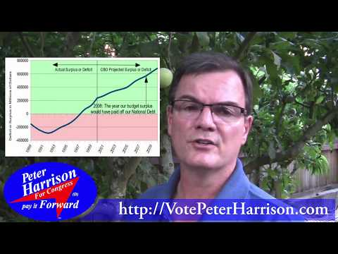 We Could Have Been Debt Free ● Peter Harrison for Congress