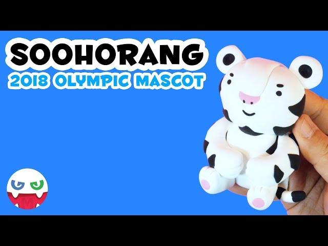 How to Make a Soohorang with Clay [ 2018 PyeongChang  Olympcis ]