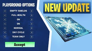 Fortnite Patch 6.01: Custom Playground Options, Chiller Traps, & More