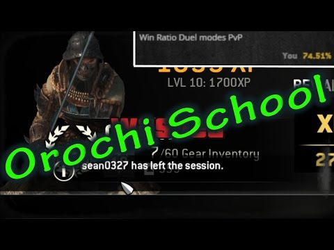 For Honor - High Level Orochi Gameplay