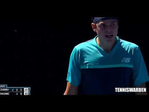 Alexander Zverev vs Milos Raonic