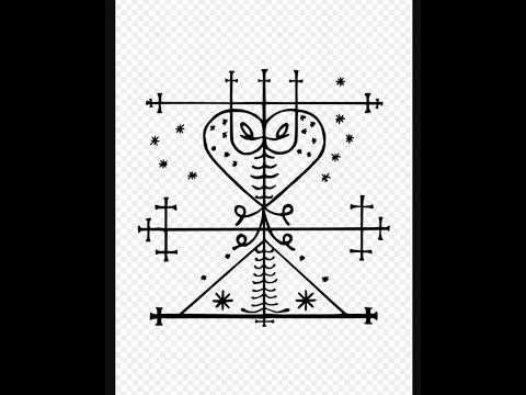 Maman Brigitte (the female Voodou Loa/Law of death). Wife of Baron Samedi.
