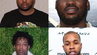 Meek Mill and Akademiks Argue on Club House. 21Savage and Tory Lanes also comment