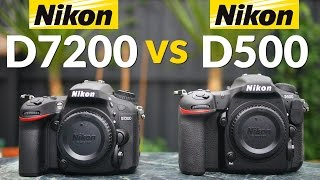 Nikon D500 vs D7200 - Head to Head Comparison