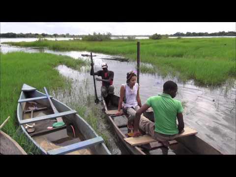 【K】Burkina Faso Travel-Banfora[부르키나파소 여행-방포라]연꽃 핀 텡그렐라 호수/Lake Tengrela/Fish/Boat/Tour/Lotus