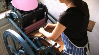 The Letterpress Process | By Phylecia Letterpress Boutique