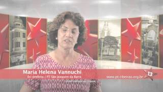 PT 35 Anos - Maria Helena Vannuchi