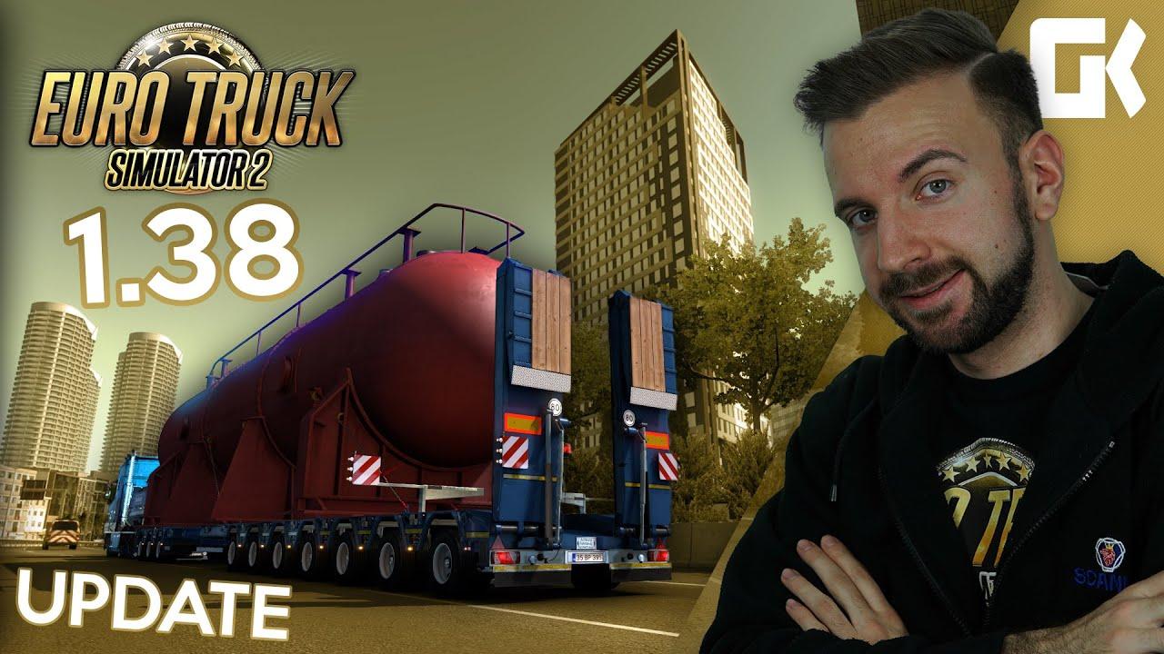 UPDATE 1.38: VYLEPŠENÍ GRAFIKY (SSAO), SPECIAL TRANSPORT V TURECKU! | Euro Truck Simulator 2