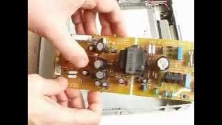 Replace a Faulty Capacitor on a power supply in a Panasonic Hard disk Recorder TU-CTH100