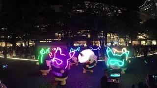 ピカチュウ大量発生チュウ!2018「ピカチュウの大行進 」夜のダンスシー...