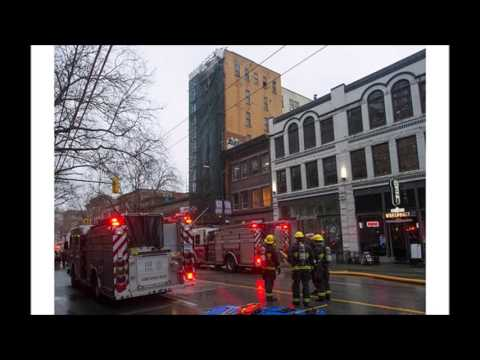 Radio Scanner Vancouver 2nd Alarm Fire