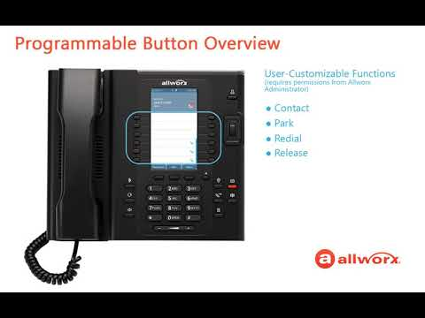 Allworx How To Series   Verge Programmable Buttons