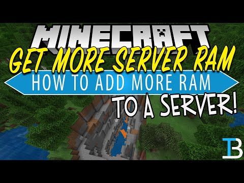 How To Add More RAM To A Minecraft Server