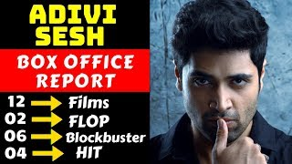 Adivi Sesh Hit And Flop All Movies List With Box Office Collection Analysis