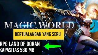GAMEPLAY GAME ANDROID RPG ONLINE LAND OF DORAN