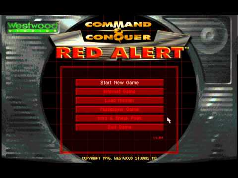 Command & Conquer Red Alert Music - Main Menu Theme