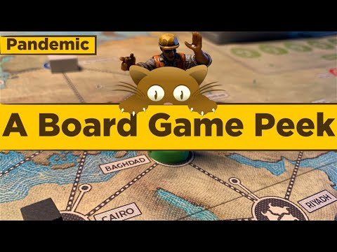 Pandemic 10th Anniversary Ed. - A Board Game Peek