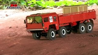 RC MAN KAT 1 8x8 1:12 scale Offroad Adventures at Segar Trail engine sound
