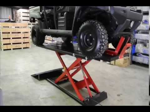 Redline 1500hd Motorcycle Amp Atv Lift Table From Www
