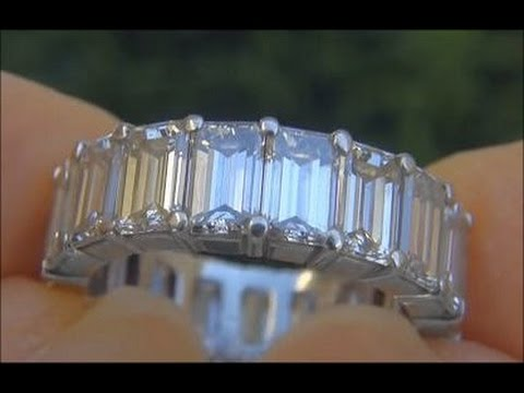 STUNNING VS 700 Carat Diamond Eternity Ring Solid