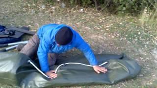 Правильное складывание надувной лодки