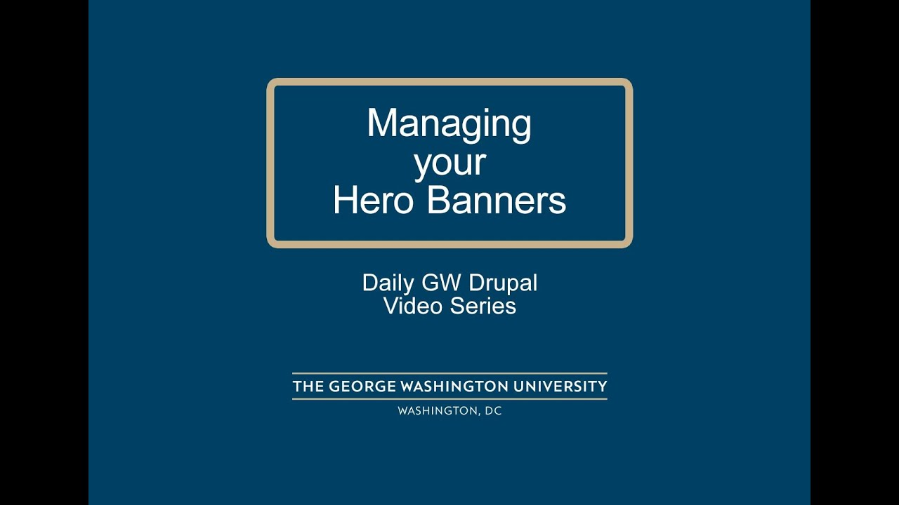Drupal Banners Triangle Flag Banners
