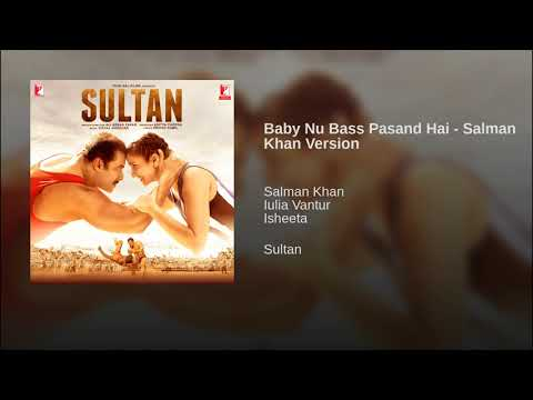 Baby Nu Bass Pasand Hai - Salman Khan Version Mp3
