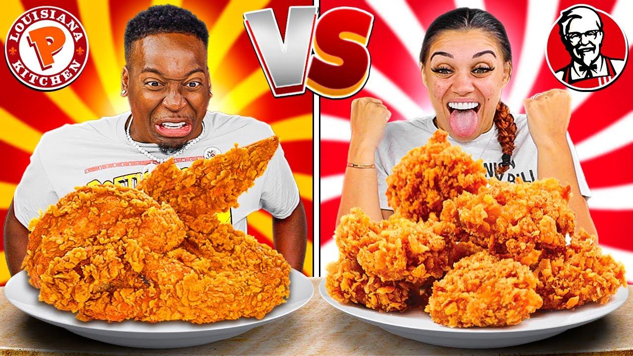 POPEYES VS KFC FOOD CHALLENGE