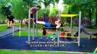 Sweat It Out Spots In Kuching Part 5: Kuching South City Council Garden (MBKS) 古晋南市公园