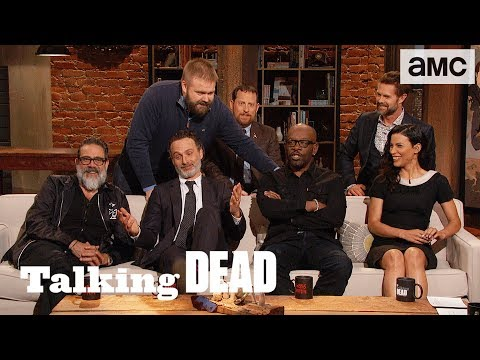 'Morgan As A Crossover Character & Andrew Lincoln Does Disco Bat' Highlights Ep. 816 | Talking Dead