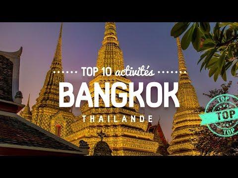 Que faire à BANGKOK 🔎 TOP 10 des activités | Voyage en Thailande