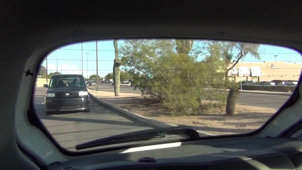 Elegant Girls Point Out Camera On Power Road. Drive To Earnhardt Chevrolet, Mesa, AZ,  00001