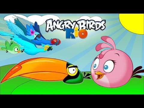 Angry birds rio timber tumble level 7 10 3 stars - Angry birds trio ...
