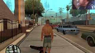 GTA SAN ANDREAS Fighting Mods WWE