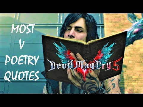 Devil May Cry 5 Most V Quality Poetry Quotes
