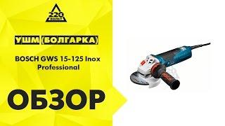 УШМ (болгарка) BOSCH GWS 15-125 Inox Professional(Купить: http://goo.gl/8dq4Dl Идеи и полезные советы от 220 Вольт: http://ok.ru/likevolt http://vk.com/likevolt http://twitter.com/likevolt http://facebook.com/likev..., 2015-08-10T14:34:46.000Z)