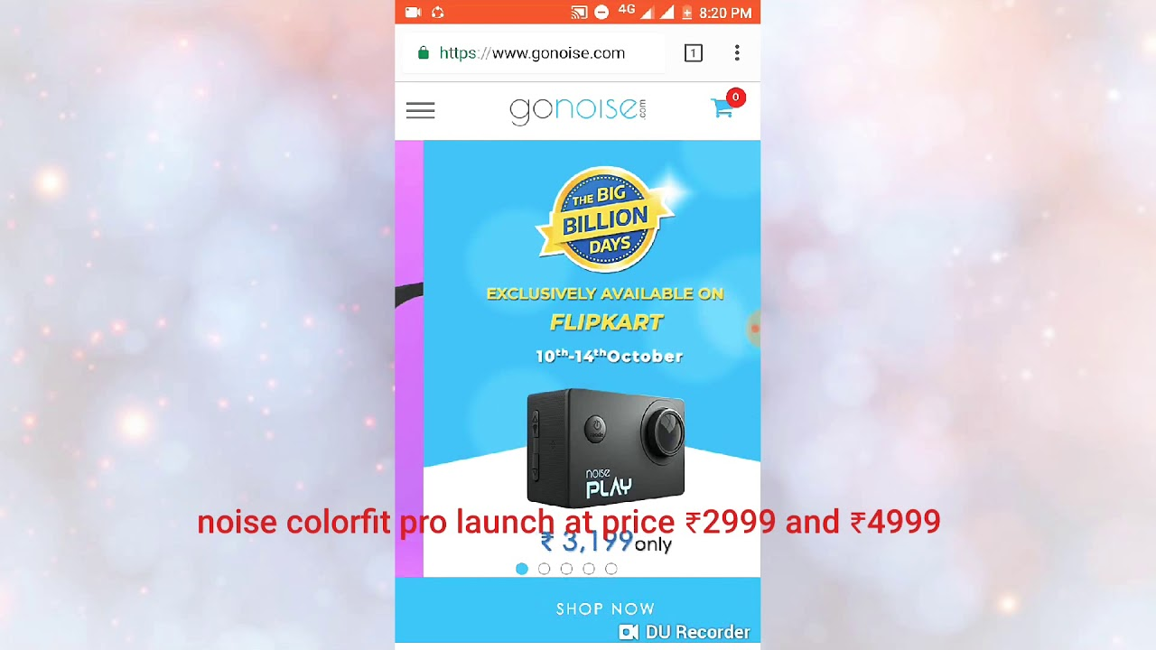 faa04087c Gonoise colorfit pro and shot X5 released at price of ₹ 2999🎉🎉🎉🎉🎉