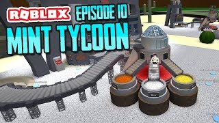 MAKING GOLD COINS - ROBLOX MINT TYCOON ADVANCE MODE #10