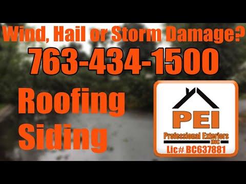 Roof Hail Damage Blaine MN - 763-434-1500