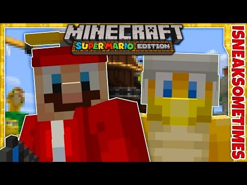 Minecraft Wii U Edition • Super Mario Mash-Up Pack DLC • Let's Play Walkthrough Gameplay Part 1