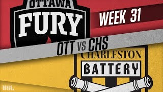 Ottawa Fury FC vs Charleston Battery: October 13, 2018