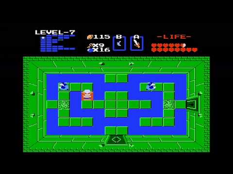 The Legend of Zelda (NES) Walkthrough (Part 9) - Level 7